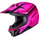Youth Pink/Red CL-XY II Bator MC-8 Helmet