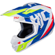 Blue/White/Green CS-MX II Dakota MC-23 Helmet