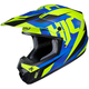 Semi-Flat Blue/Green CS-MX II Dakota MC-2SF Helmet