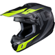 Semi-Flat Black/Gray/Green CS-MX II Dakota MC-5SF Helmet