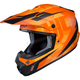 Semi-Flat Orange/Black CS-MX II Dakota MC-7SF Helmet