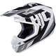 Black/White CS-MX II Dakota MC-10 Helmet
