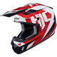Red/White/Black CS-MX II Dakota MC-1 Helmet