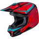 Red/Blue CL-X7 Bator MC-1 Helmet