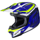 Blue/Green/White CL-X7 Bator MC-2 Helmet