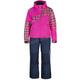 Girls Pink  2-Piece Mirage Snowmobile Suit