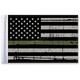 Grunge USA 9x6 Military Green Line Motorcycle Flag - FLG-GMGL-US