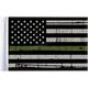 Grunge USA 10x15 Military Green Line Motorcycle Flag - FLG-GMGL-US15