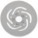 Stainless Steel Drilled Rear Brake Rotor - 1710-3215