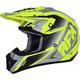 Matte Neon Yellow/Silver FX-17 Force Helmet