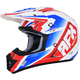 Red/White/Blue FX-17 Force Helmet