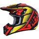 Red/Yellow/Black FX-17 Force Helmet
