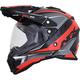 Black/Red FX-41 DS Eiger Helmet