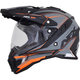 Frost Grey/Neon Orange FX-41 DS Eiger Helmet