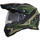 Matte Beige/Khaki/Neon Green FX-41 DS Eiger Helmet