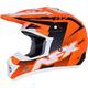 Matte Neon Orange/Black/White  FX-17Y Youth Holeshot Helmet