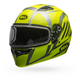 Yellow/Titanium Qualifier Blaze Snow Helmet w/Dual Lens Shield