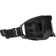 Matte Black 210 Tactical Goggles w/Silver Mirror Controlled Ventilation Lens - 120047#