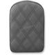 Black Universal Gravestone Sissy Bar Pad for Lariat Style Seat - 041143