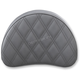 Black Half-Moon Sissy Bar Pad for Road Sofa-LS Seats - 051343