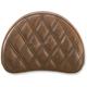 Brown Half-Moon Sissy Bar Pad for Road Sofa-LS Seats - 051345