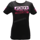 Women's Black/Fuchsia Race Division T-Shirt