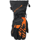 Black/Orange Ravine Gloves