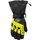 Black/Hi Viz Quest Gloves