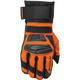 Black/Orange Rove Gloves