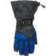 Black/Blue Pivot Gloves