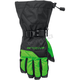 Black/Green Pivot Gloves