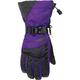 Women's Black/Purple Pivot Gloves