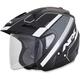 Matte Black/White FX-50 Signal Multi Helmet