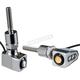 Chrome Single Rat Eye LED Mirror Mount Turn Signals - 05-215C