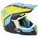 Green/Black/Blue F5 Ion Helmet