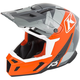 Orange/Gray F5 Camo Helmet
