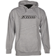 Gray Word Pullover Hoody