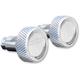 Chrome Knurled Saddlebag Latch Levers - SLK01-KC