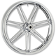 Chrome 7 Valve 23x3.5 Forged Aluminum Front Wheel (ABS) - 10302-205-6012