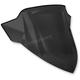 14 in. Black Opaque Medium Windshield - 06-660-01