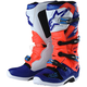Red Fluorescent/White/Blue Tech 7 Troy Lee Designs Boots