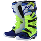 Yellow Fluorescent/Blue/White Tech 7 Troy Lee Designs Boots