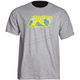 Gray Razor Graphic T-Shirt