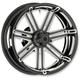 Black 7 Valve 17x6.25 Forged Aluminum Rear Wheel (Non-ABS) - 10301-201-6500