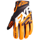 Black/Orange X Cross Glove