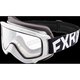 Youth White/Black Throttle Goggles - 183130-0110-00