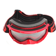 Youth Red/Black/White Throttle Goggles - 183130-2010-00