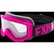 Youth Fuchsia/Black/Hi-Vis Throttle Goggles - 183130-9065-00