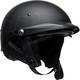 Matte Black Catacombs Pit Boss Helmet