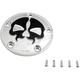 Chrome w/Black Skull Split Skull Points Cover - 0940-1612